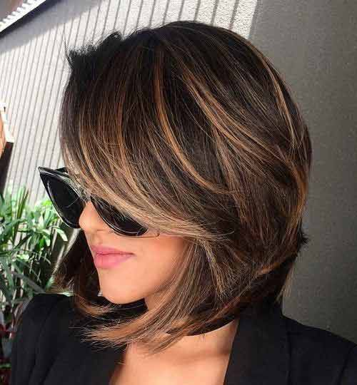 classy reverse bob short haircut and hairstyle 2017 2018 in pakistan