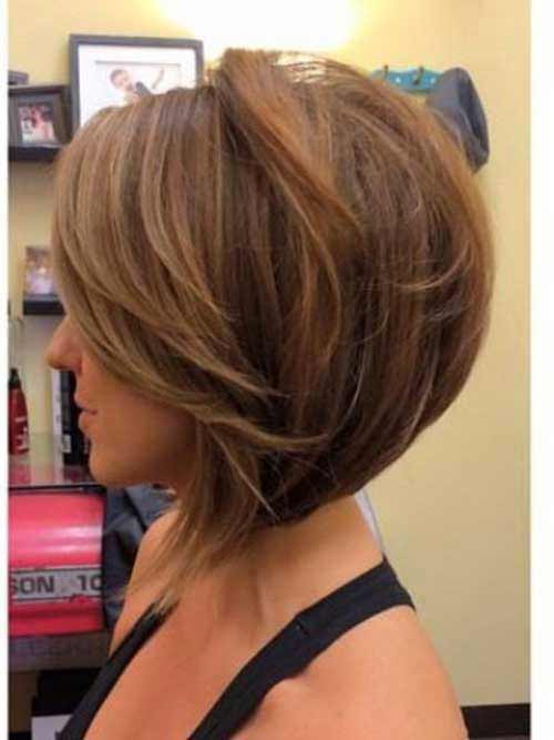 reverse bob cute short haircut and hairstyle 2017 2018