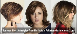 best summer short haircut and hairstyle 2018 trend in pakistan and india