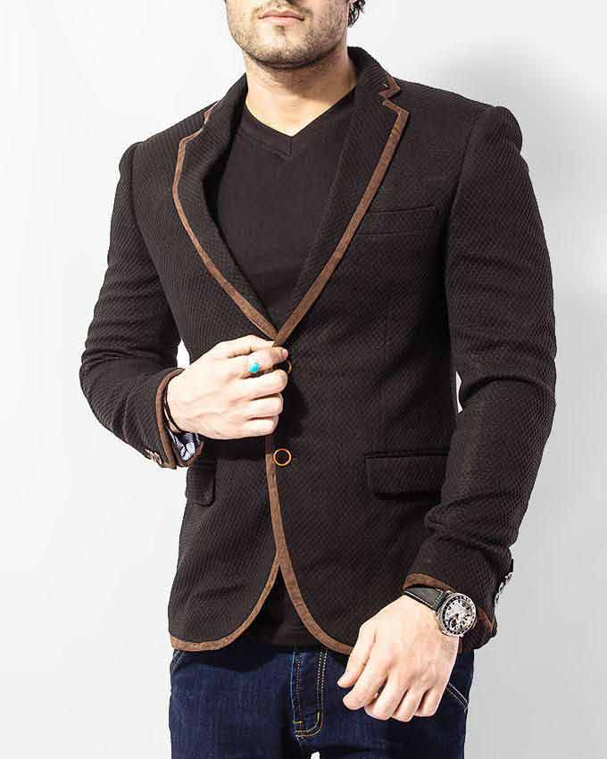 trendy brown winter casual coats for men in Pakistan 2018