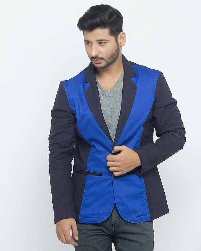 trendy blue winter casual coats for men in Pakistan 2018
