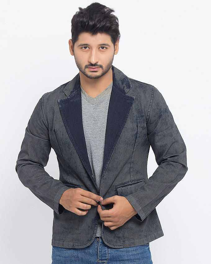 best gray winter casual coats for men in Pakistan 2018