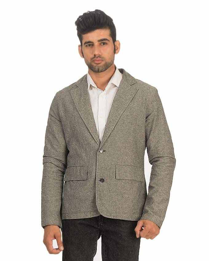 latest light grey winter casual coats for men in Pakistan 2018