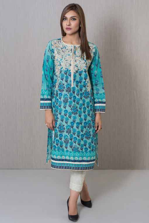 best blue winter dresses in Pakistan 2018 for girls