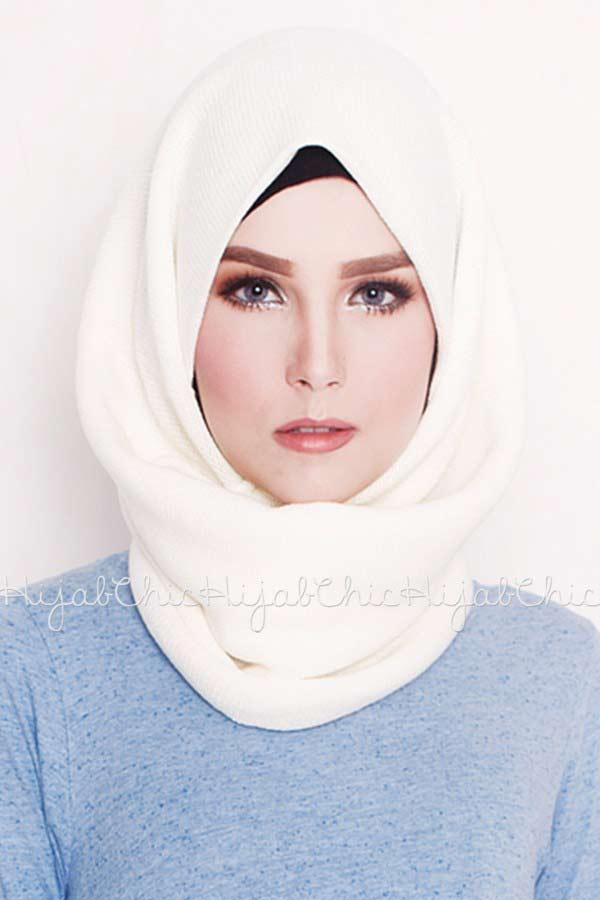 classy white arabian and pakistani hijab styles trend 2017 2018