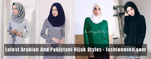 Best Hijab Styles In Pakistani And Arabic Style