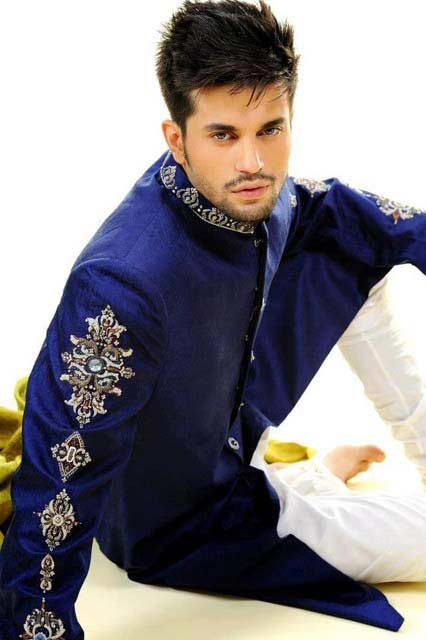 latest pakistani men spiky hairstyles 2017 for mehndi function