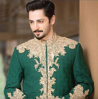 new pakistani men medium hairstyles 2017 for mehndi function