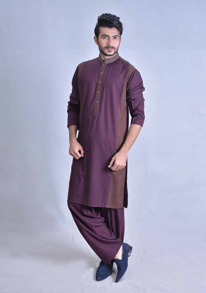 amazing magenta best pakistani men kurta shalwar kameez designs 2017