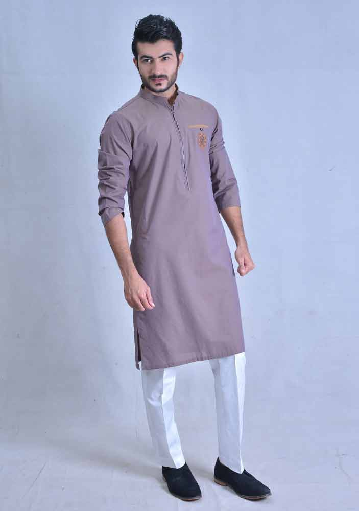 amazing purple best pakistani men kurta shalwar kameez designs 2017 with white shalwar
