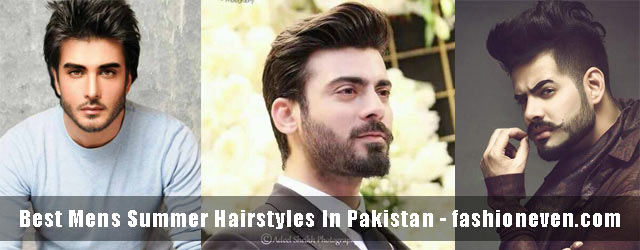 New Pakistani Hairstyles For Boys In Summer 2019