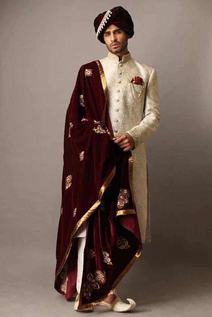 Groom Wedding Sherwani Designs For Barat 12 Fashioneven