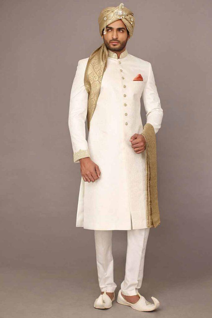 Groom Wedding Sherwani Designs For Barat 14 Fashioneven