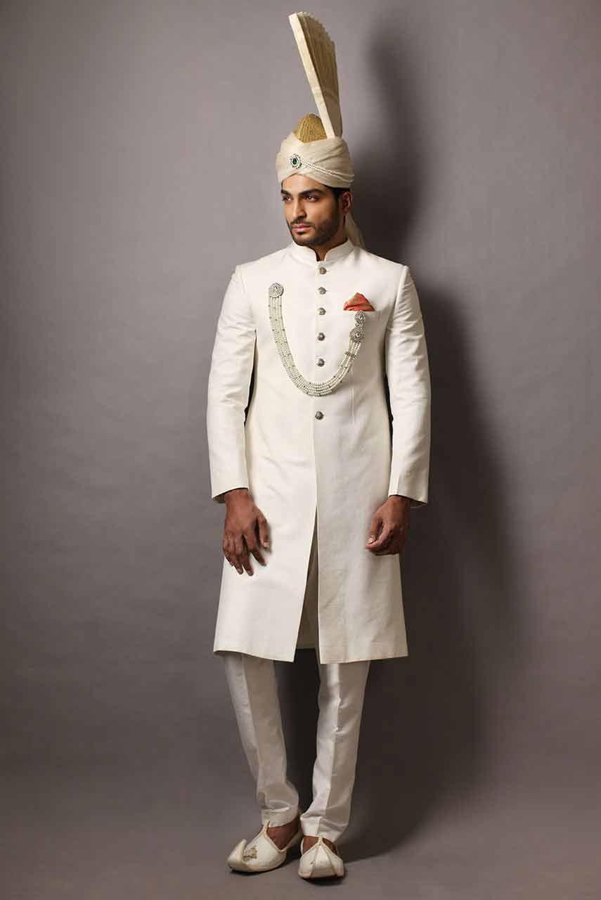 Wedding Sherwani Designs For Groom Barat In 2019 | FashionEven