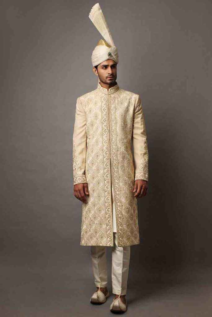 Groom Wedding Sherwani Designs For Barat 22 Fashioneven