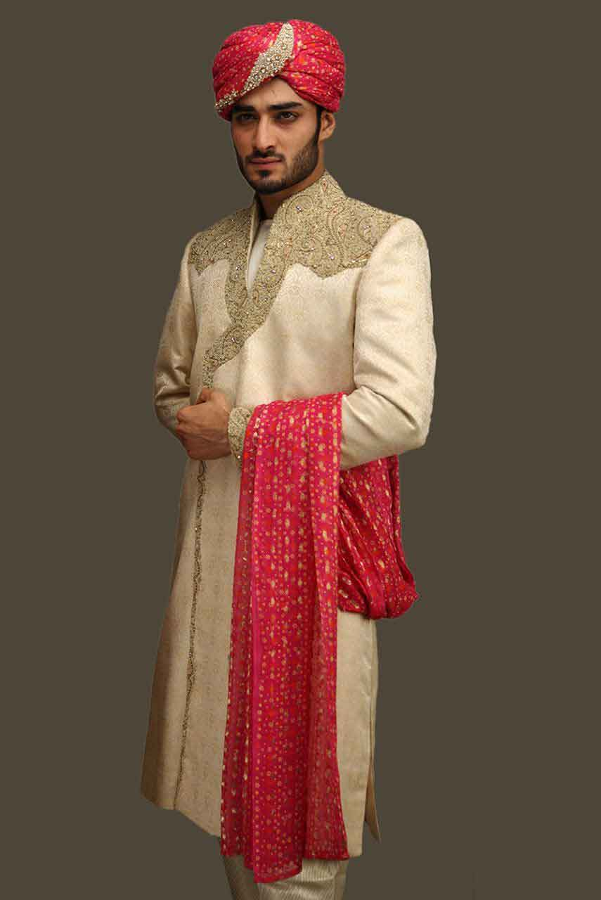 Wedding Sherwani Designs For Groom Barat In 2018