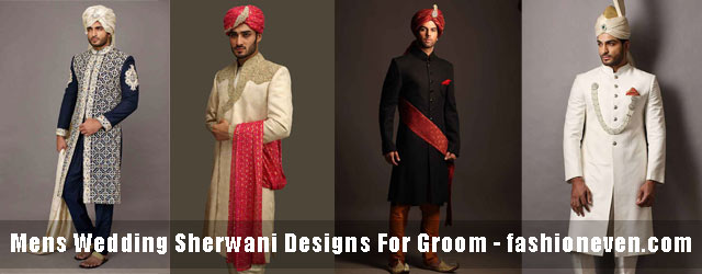 Wedding Sherwani Designs For Groom Barat In 2019