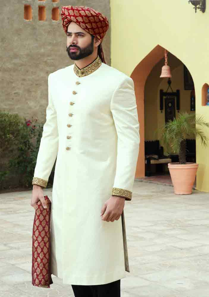 Groom Wedding Sherwani Designs For Barat 8 Fashioneven