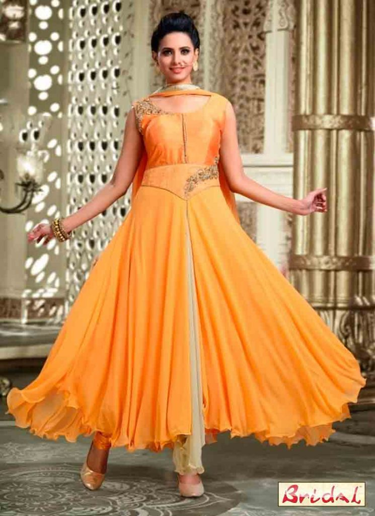 Latest Indian Anarkali Frocks And Salwar Suit Designs 15