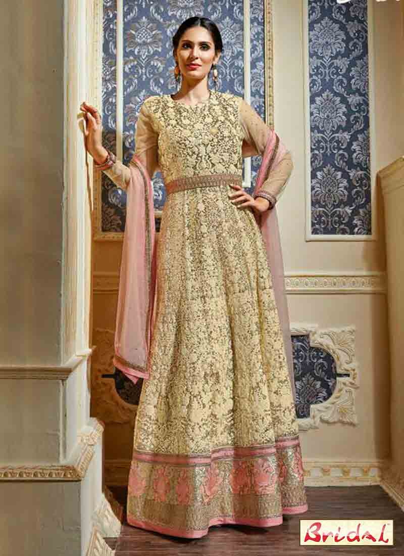 latest indian anarkali frocks and salwar suit dress designs 2017 for wedding