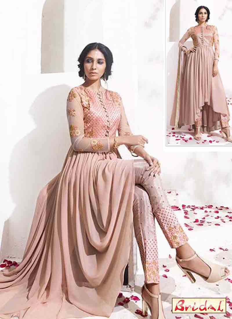 latest indian anarkali frocks and salwar suit dress designs 2017 with churidar
