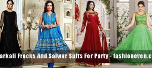 best multi color latest indian anarkali frocks and salwar suit dress designs 2017 with matching dupatta and churidar
