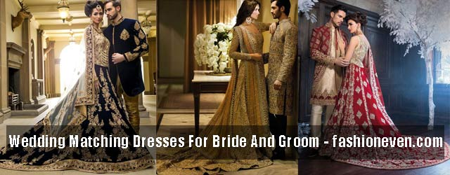 Matching Wedding Dresses For Bride Groom In 2019