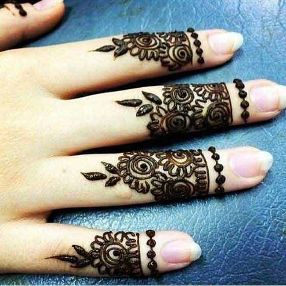 simple arabic finger mehndi designs latest finger mehndi designs 2017 new styles for hands