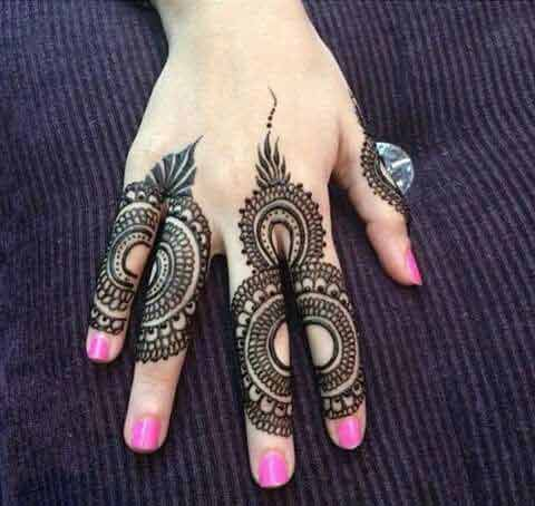 simple turkish mehndi latest finger mehndi designs 2017 new styles for hands