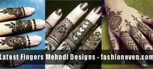 best simple and easy latest finger mehndi designs 2017 new styles