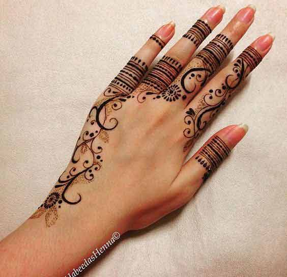best turkish mehndi style latest finger mehndi designs 2017 new styles for hands