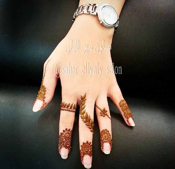 best simple latest finger mehndi designs 2017 new styles for hands