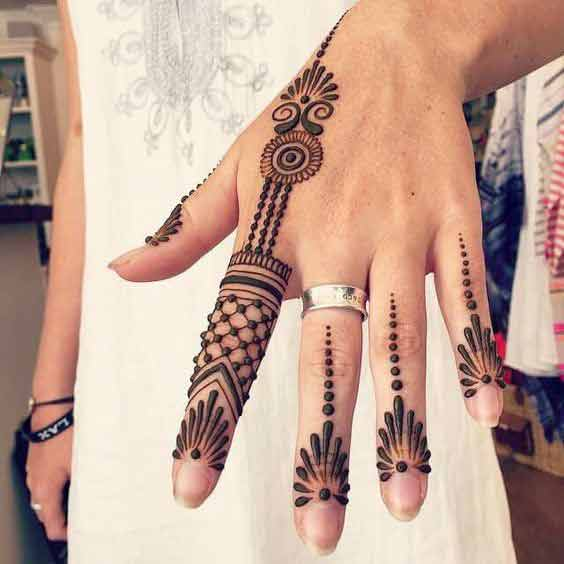 new style of easy mehndi latest finger mehndi designs 2017 new styles for hands