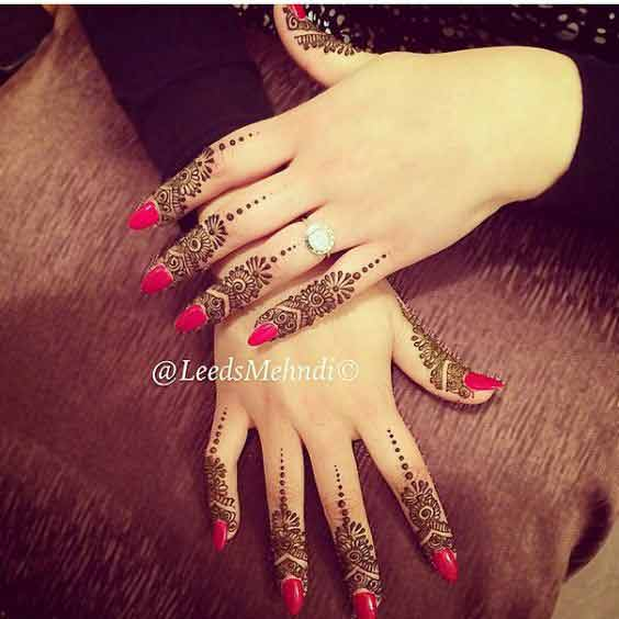 simple indian mehndi style latest finger mehndi designs 2017 new styles for hands