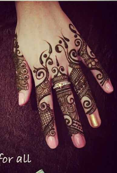 Mehndi Fingers Rating : Latest fingers mehndi designs for hands fashioneven