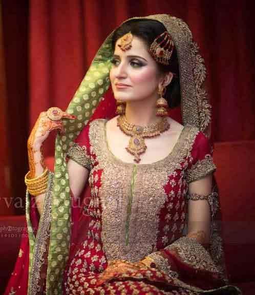 Best Bridal Dupatta Styles For Wedding In 2018 Fashioneven
