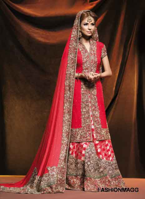 Latest dupatta style best bridal dupatta setting styles 2017