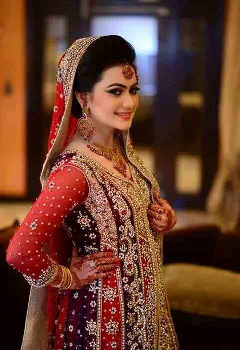 New dupatta style on head best bridal dupatta setting styles 2017