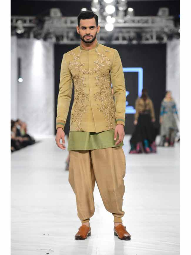 Pakistani Wedding Short Sherwani Designs 3 Fashioneven