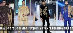 Latest black golden cream off white navy blue and magenta new short sherwani styles 2017 sherwani for men in pakistan