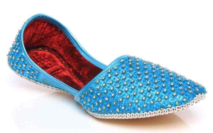 New ferozi or blue men wedding khussa styles 2017 new sherwani khussa shoes
