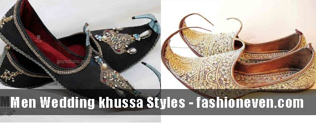 Latest Wedding Khussa Shoes For Groom In 2018