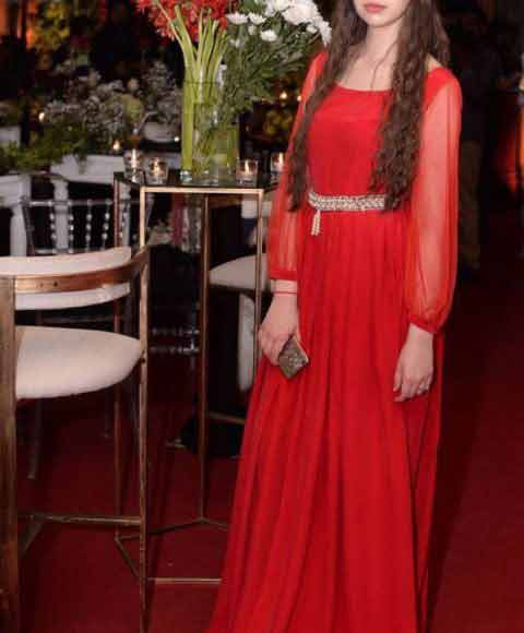 latest red maxi gown girls net dresses 2017 pakistani party dresses with price