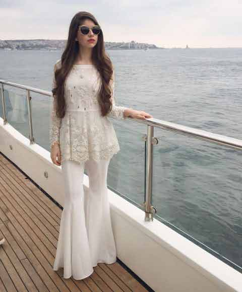 Pakistani Net Frocks And Gowns With Price For 2018