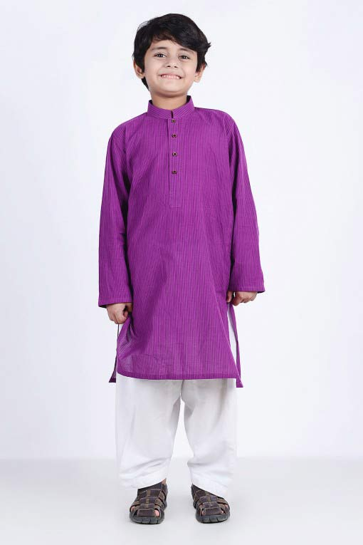 new purple shirt with white shalwar latest little boys kurta shalwar kameez designs 2017 for summer in Pakistan