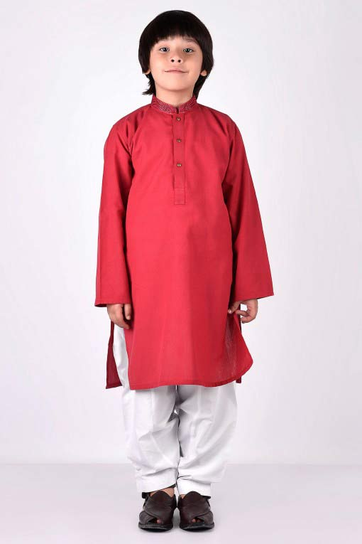 best orange kameez with white shalwar