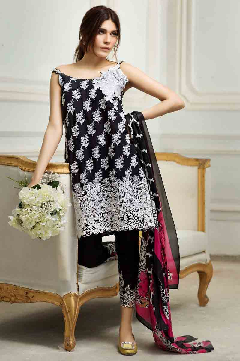 pakistani designer summer dresses 2017 - photo #41