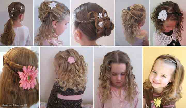 different braided hairstyles for long short medium hair little girls hairstyles for eid party 2017