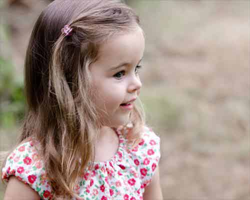 side part medium hairstyle little girls hairstyles for eid party 2017