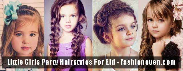 Easy Little Girls Hairstyles For Eid Party 2017